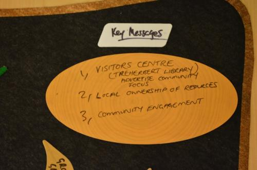 Ketso: Key Messages